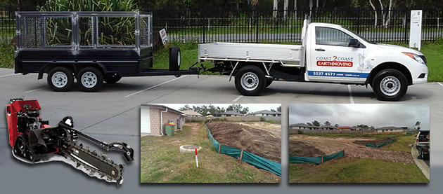 Silt & sediment Fencing coast2coast earthmoving gold coast sunshine coast brisbane ipswich toowoomba